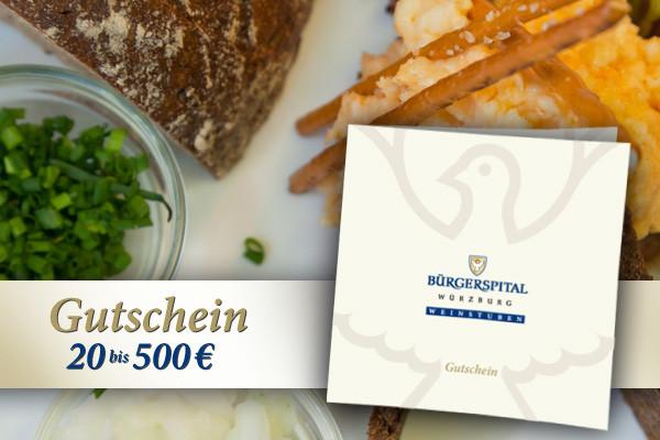 Restaurantgutschein Bürgerspital Weinstuben
