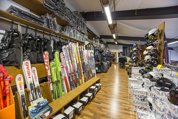 Skisport-Artikel Einkaufsgutschein