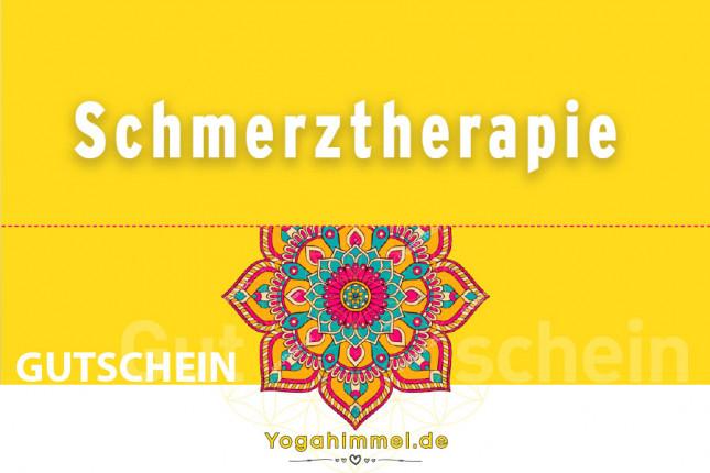 Schmerz-Therapie Gutschein