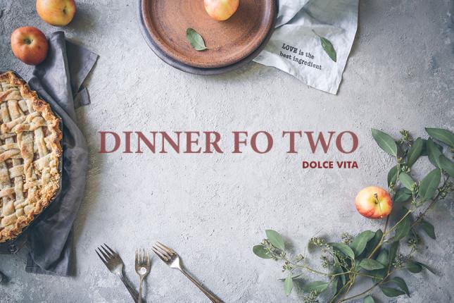 Dinner for Two Geschenkgutschein