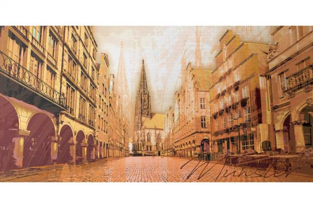 Stadtkunst Münster von Arte in Würzburg