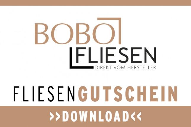 Bobo Fliesen Einkaufsgutschein Download Würzburg